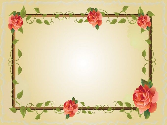 Border Frames Ppt Backgrounds Pinterest