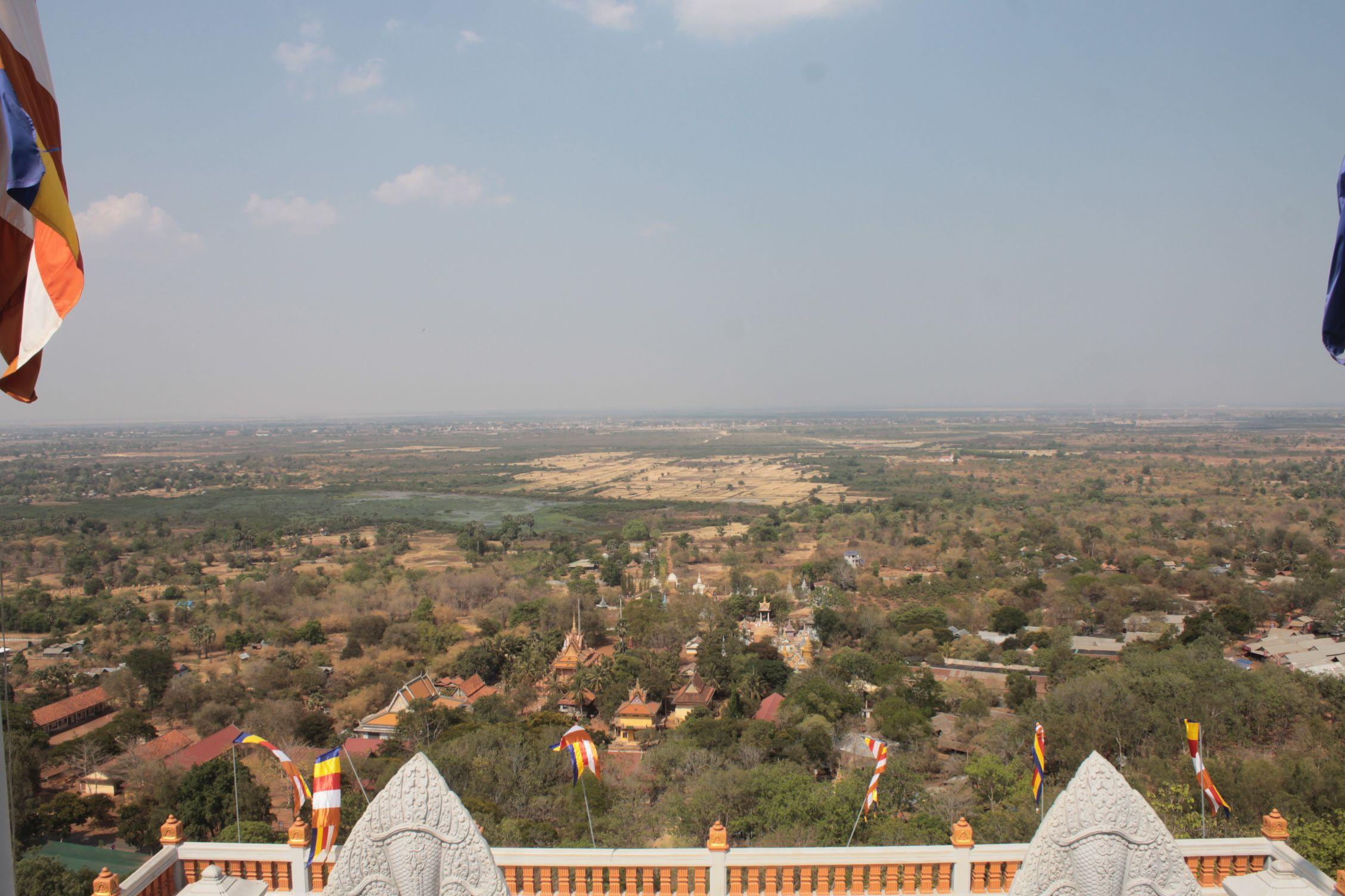 Vistas desde el monte Oudong