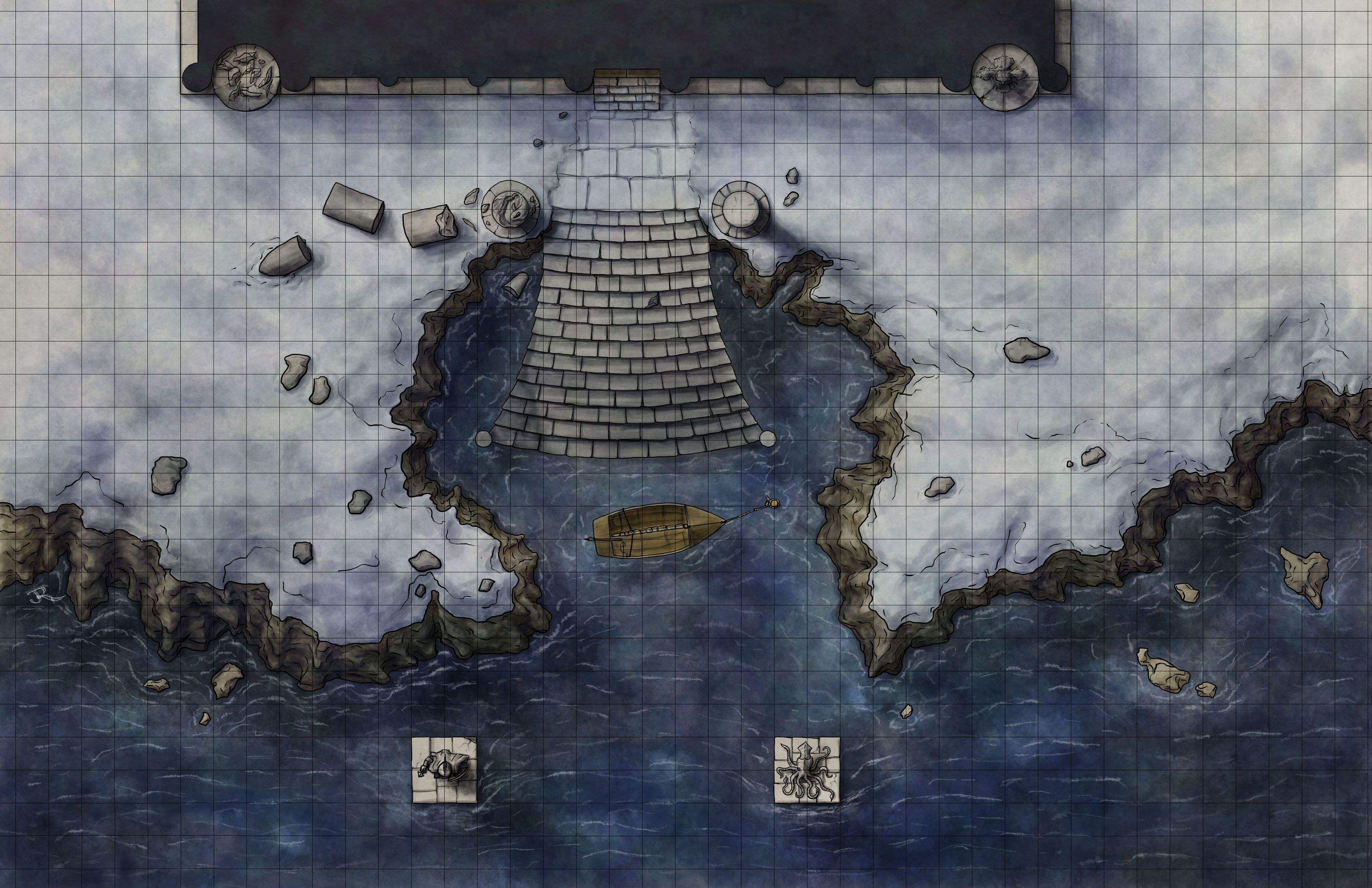 Image Result For Dampd Map Of Underwater Ruins DampD Maps