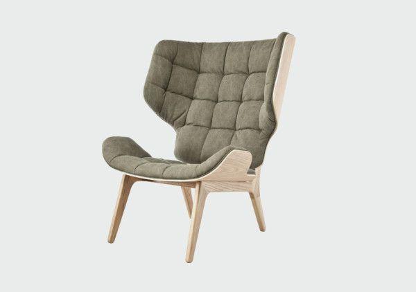 Fauteuil Design Scandinave Mammoth pour Norr11 | Fauteuil design ...