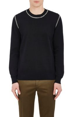 GIVENCHY Embellished Cotton Sweater. #givenchy #cloth