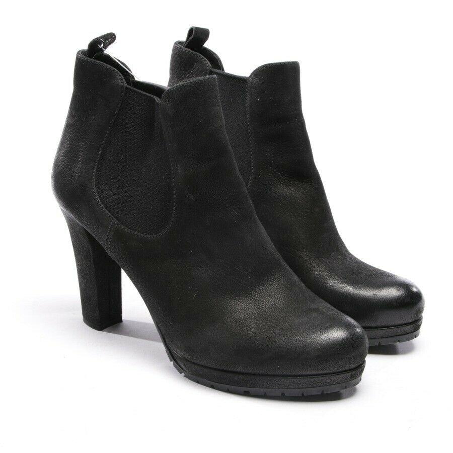 eBay #Sponsored PRADA Stiefeletten Gr. D 39 Schwarz Damen