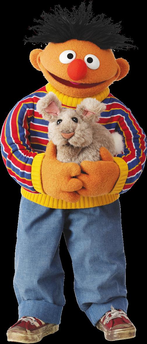 Muppethub Com Wp Content Uploads 2014 06 Ernie 3 Png Sesame Street Muppets Sesame Street Muppets