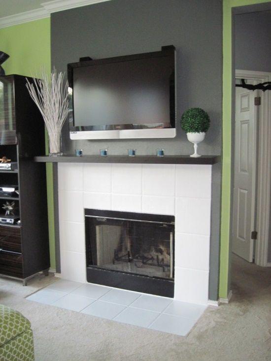 Tile Fireplace @ Home Design Ideas
