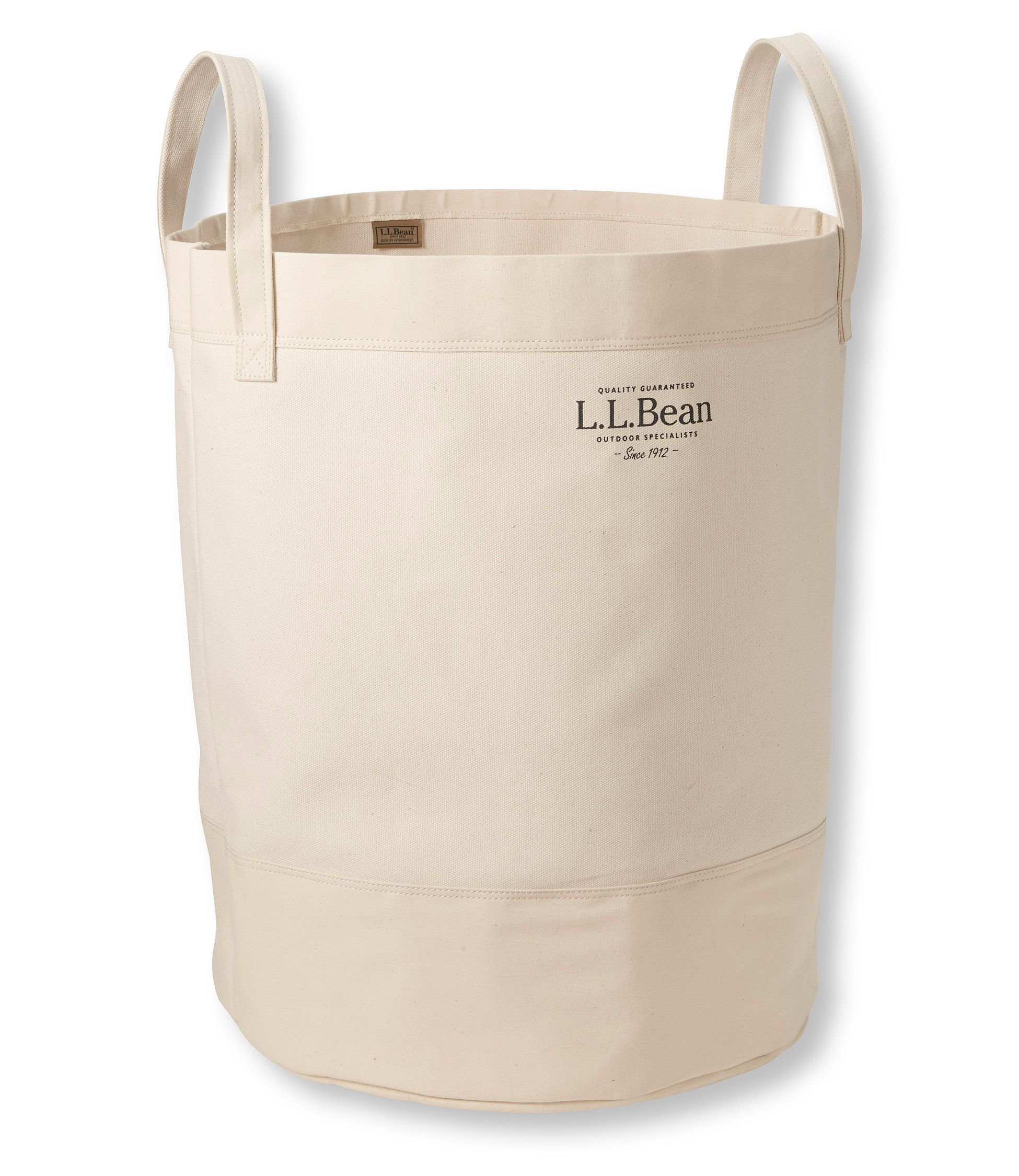 Canvas Laundry Tote Bag