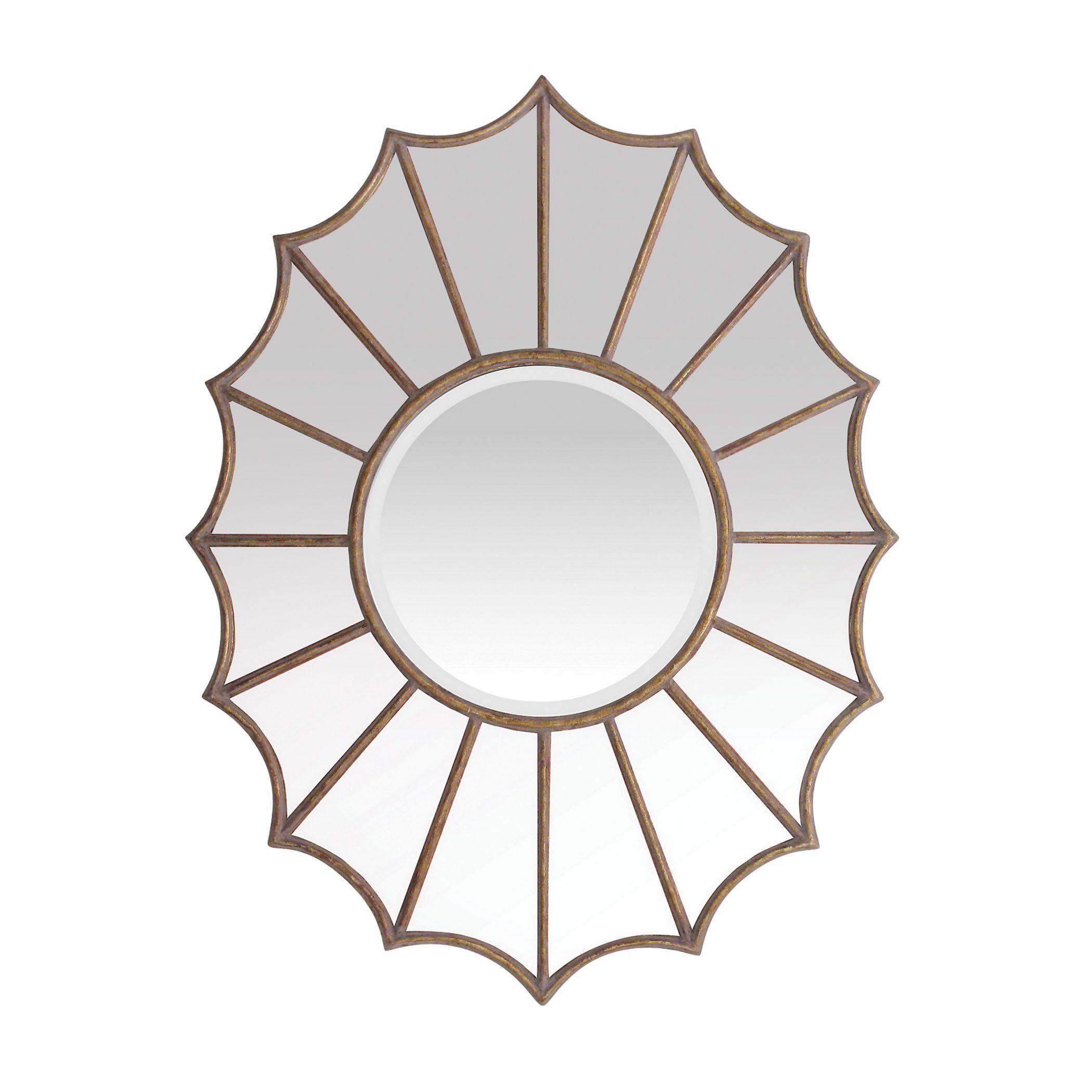 Sterling Industries Victoria Starburst Beveled Mirror