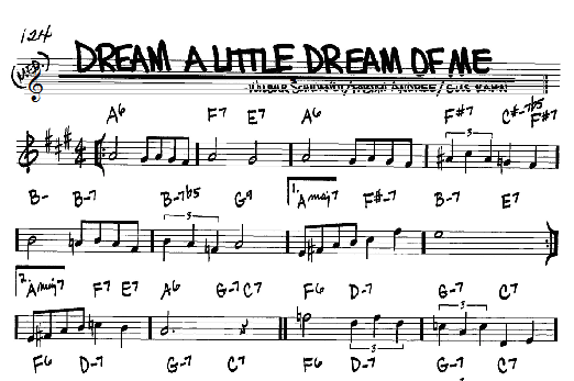 Dream A Little Dream Of Me Songs To Sing Pinterest Songs