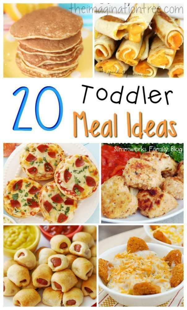 20 Great Toddler Meal Ideas images