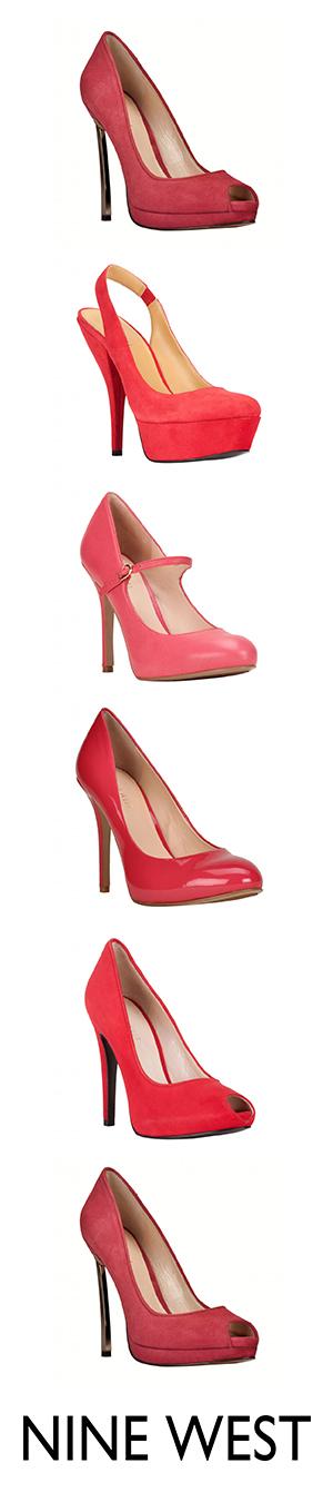 baratas para descuento 9c018 1750e We ♥ rojo y rosa. Pumps - Zapatos Nine West México ...