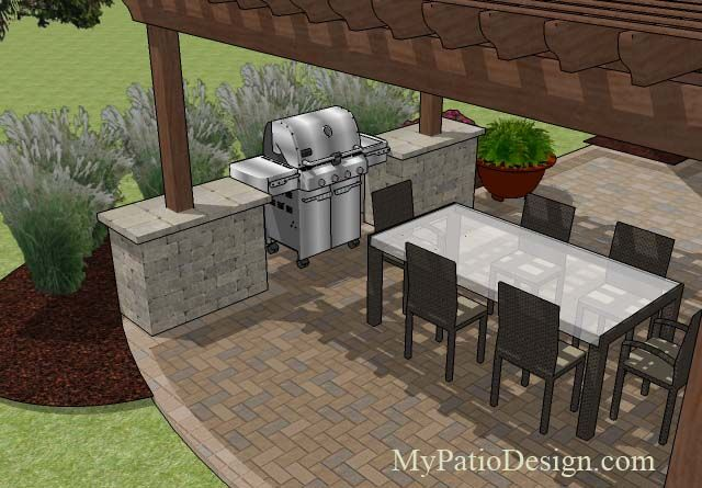Patio Fire Pits And Grills | ... Patio Ideas | Fireplaces | Fire Pits