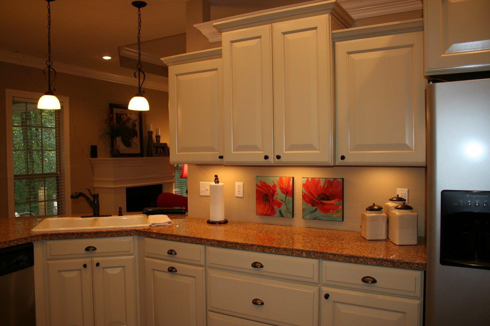 kitchen cabinets cream color   Kitchen, Kitchen cabinets