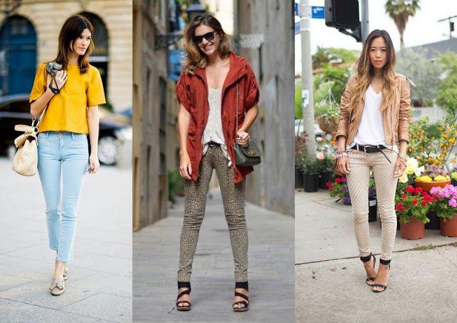 Street style: Skinny jeans