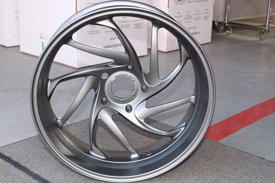 Motorcycle Wheel Refinishing - Powder Coating # ...