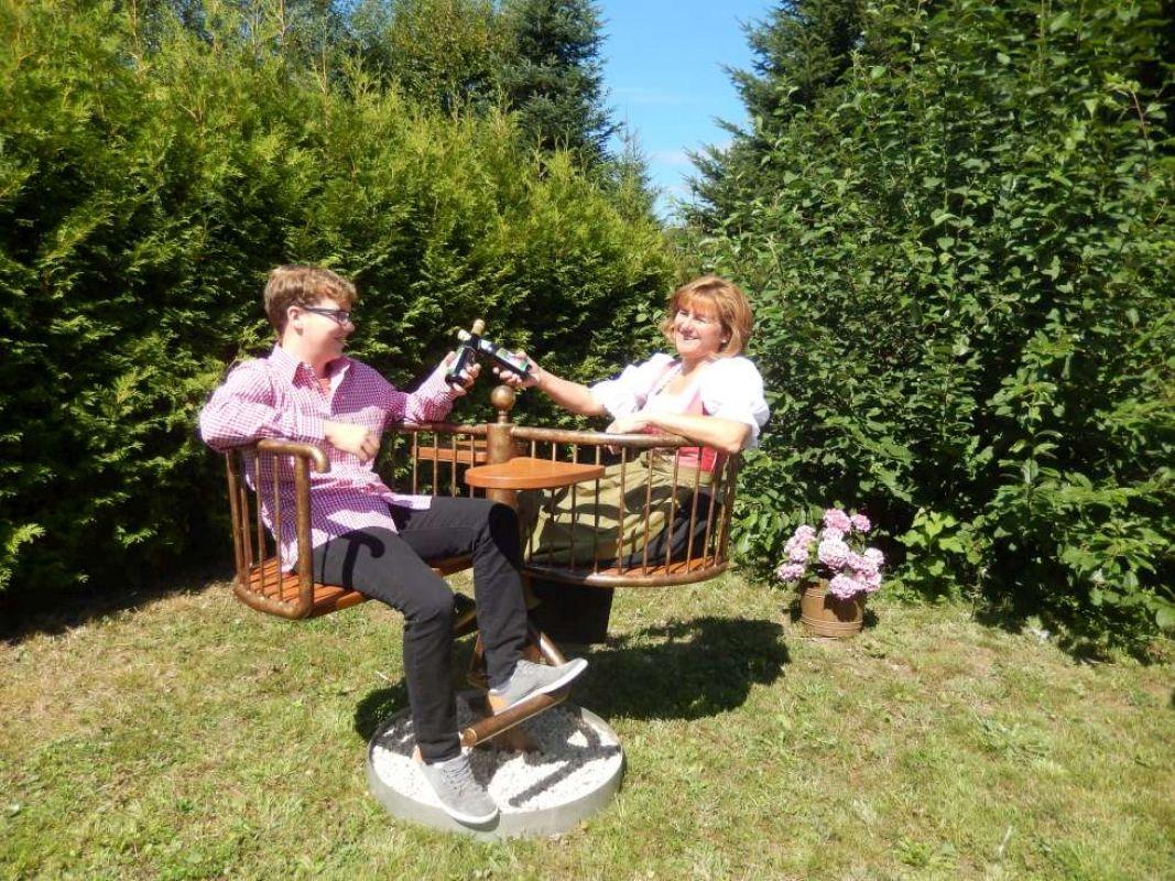 Himmelsliege Waldsofa Relaxliege Garten Liegebank Schwungliege Boot Mobel Relaxliege Garten Relaxen