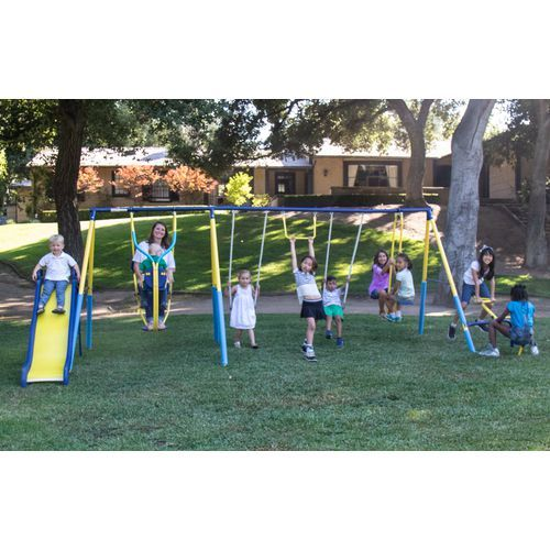 Sportspower Super 10 Me And My Toddler Swing Set Outdoor Games And