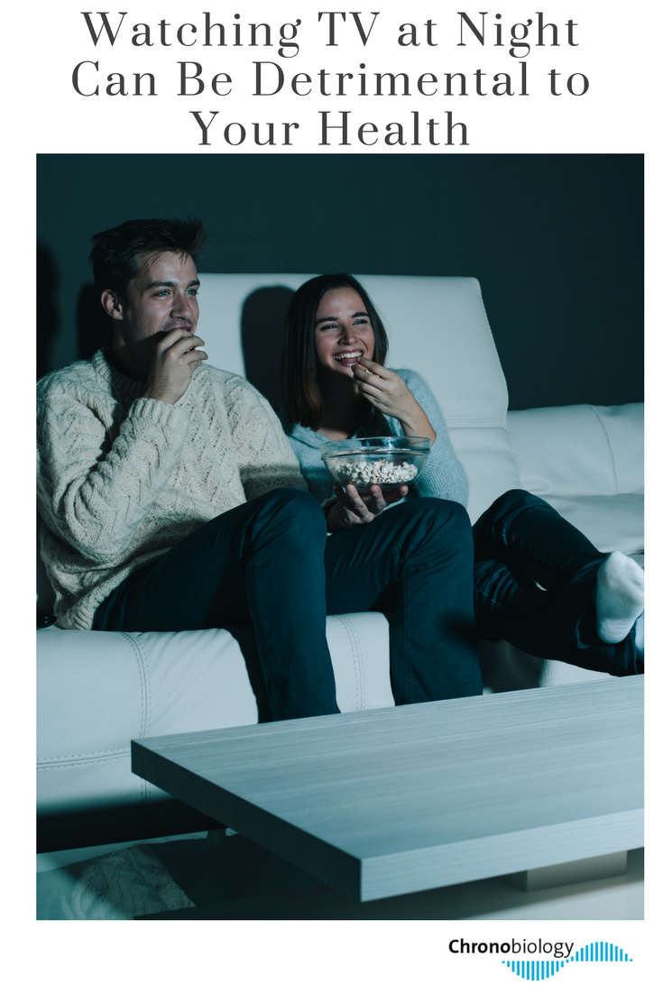 Watching TV at Night Can Be Detrimental to Your Health