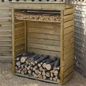 Good Buy Our Small Log Store For Convenient Firewood Log Storage Outside. For  Keeping Your Firewood Logs Dry And Well Seasoned. The Firewood Log Store Is  ...