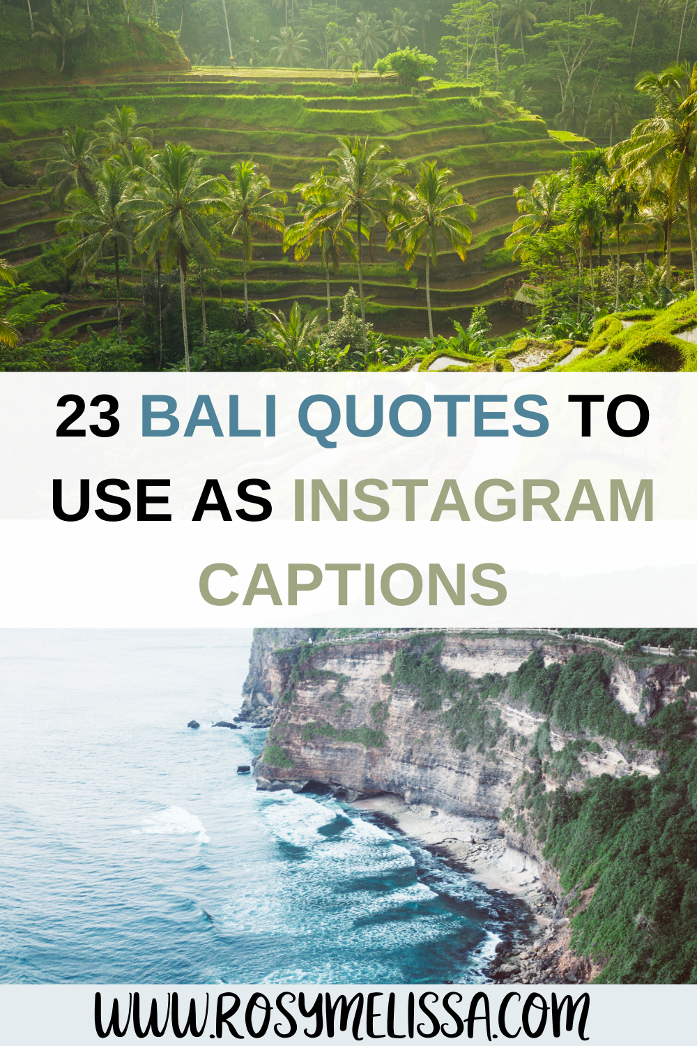 23 Beautiful Bali Quotes, Instagram Captions and Puns in 2020