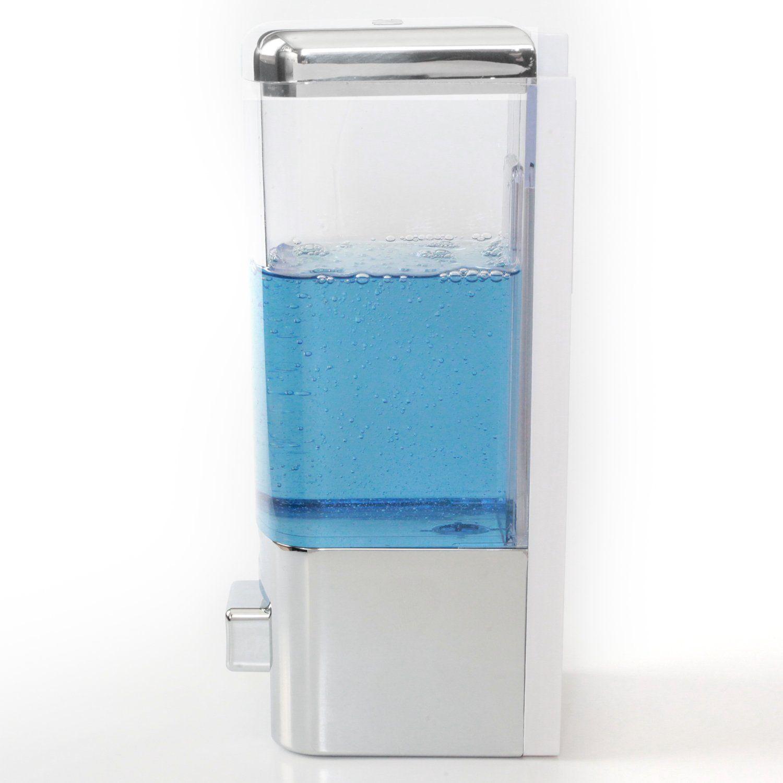 Single Chamber Shampoo or Soap Dispenser   Shampoo dispenser, Shower ...
