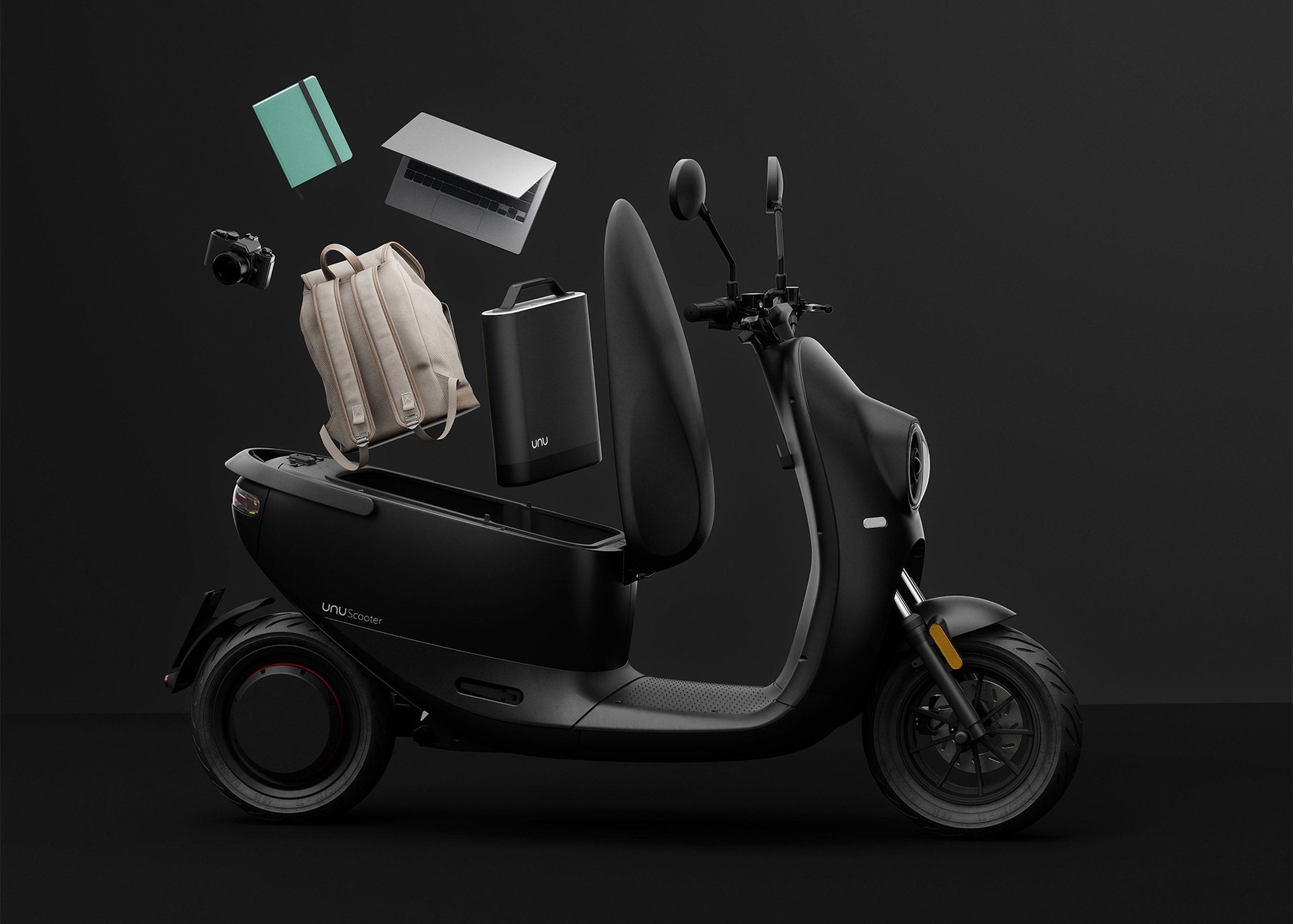 Unu's networked scooter uses smart technologies to allow