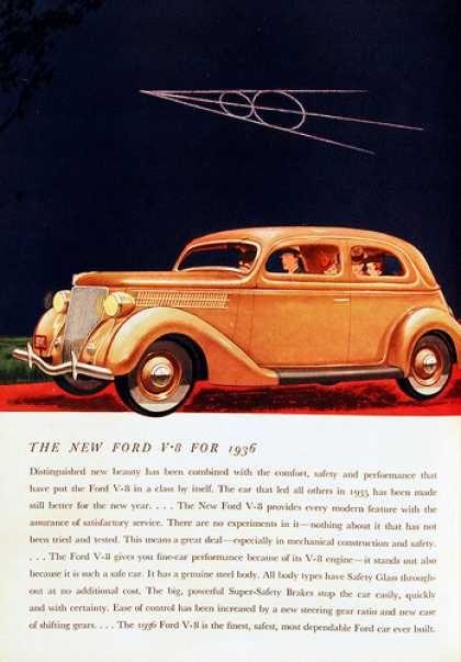 1936 Ford V-8 Ad