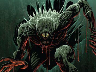 Campy Creatures Demogorgon Illustration