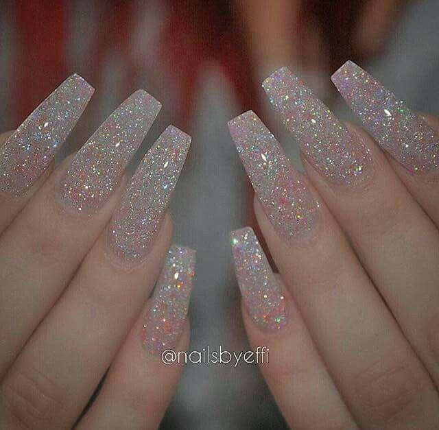 Azúcar Uñas Cristal Uñas Acrílicias De Gel Y Manicura De Uñas
