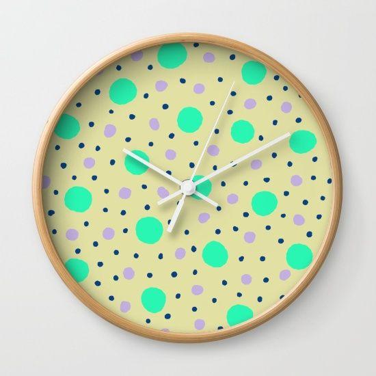 Dots #3 (By Salomon) #print #lamina #clock #frame #decor #decoration #decoracion #interior #home #wall #casa #frame #pattern #mosaic #mosaico #texture #gradient #abstract #dots #love #pattern #society6 @society6