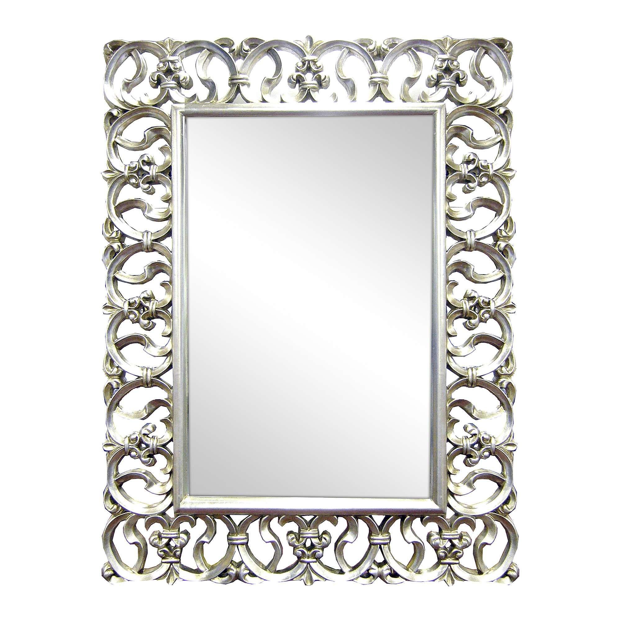 Ornate Highlife Framed Mirror - Dunelm