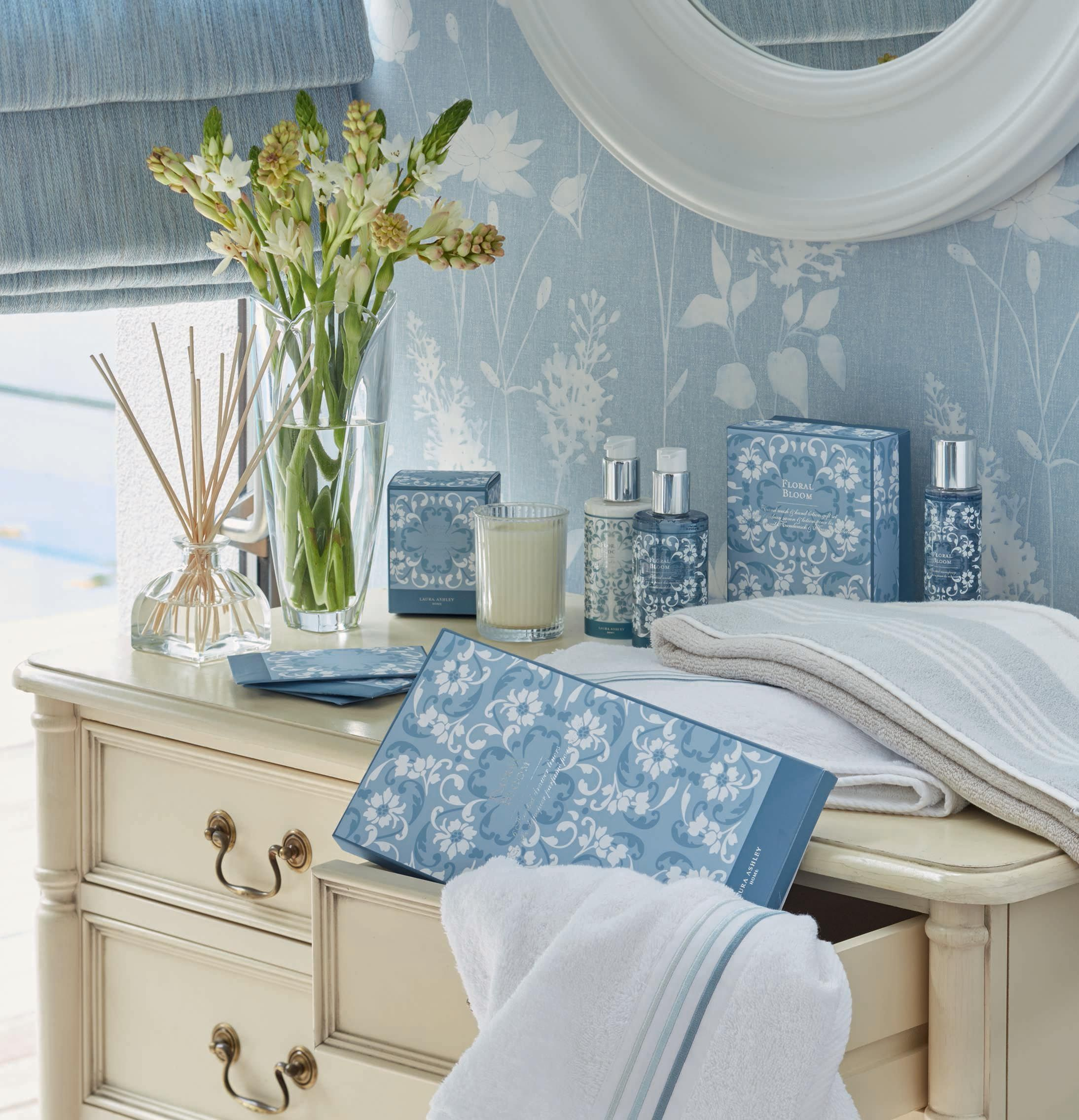 20 Cool Master Bedroom Designs Collection: Laura Ashley Cool Blue Collection SS17