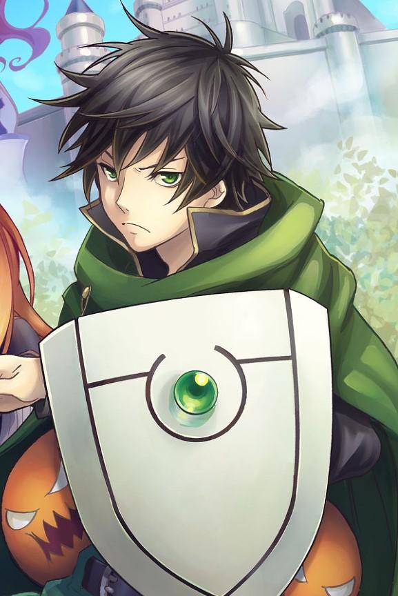 Naofumi Iwatani The Rising of the Shield Hero anime