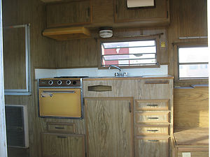 Vintage 1973 Prowler Travel Trailer With Bathroom Nice