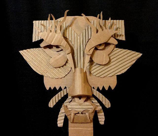 Diy Cardboard Masks: Výsledek Obrázku Pro Diy Cardboard Masks Basic Face