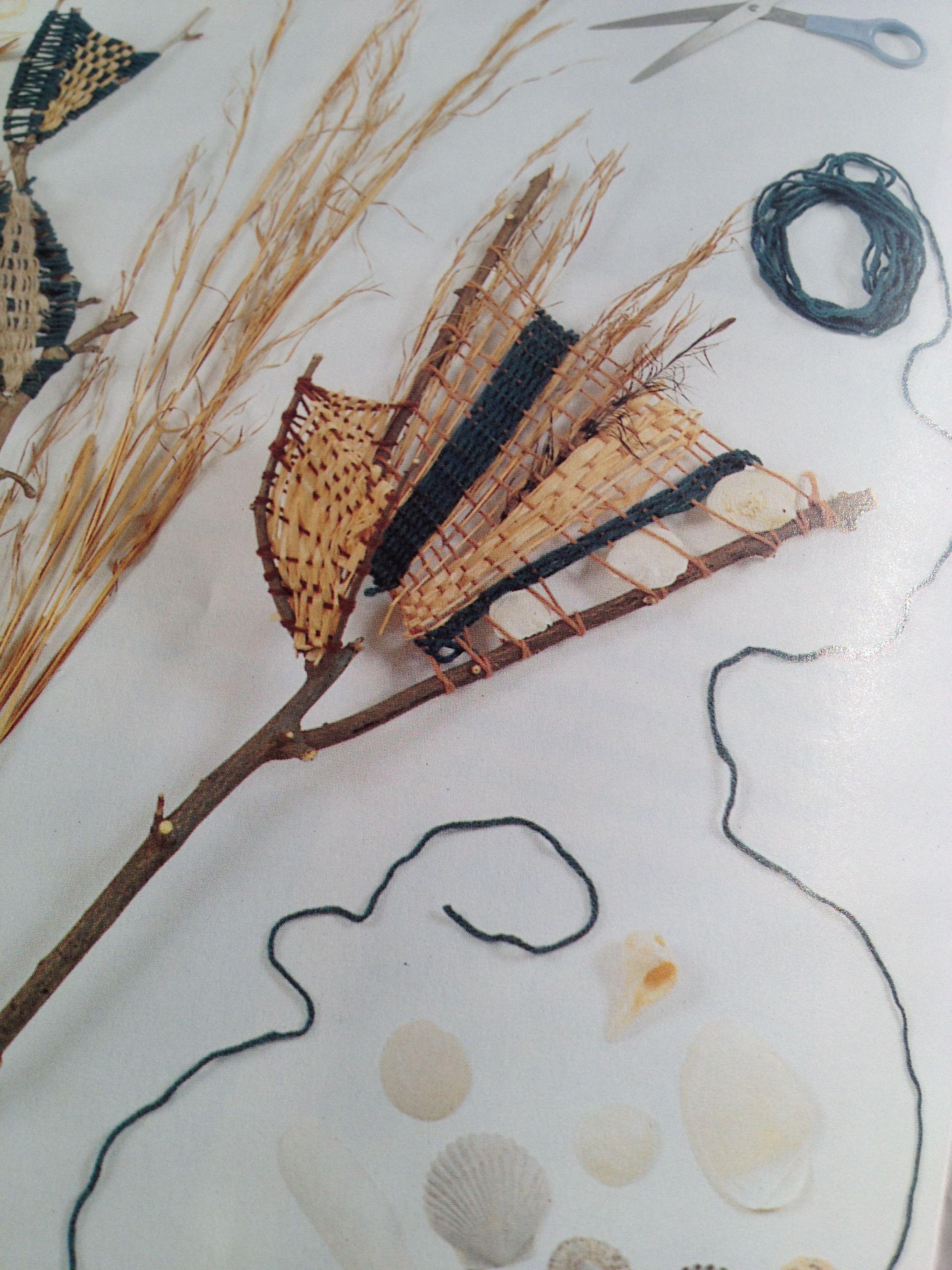 Twig Weaving Re Pinned By Elizabeth Vanbuskirk Author Of