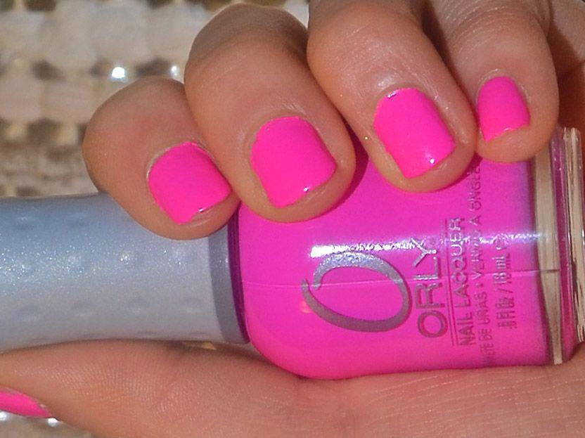 Review: Orly Fancy Fuschia Nail Polish   beauty   Pinterest   Fancy ...