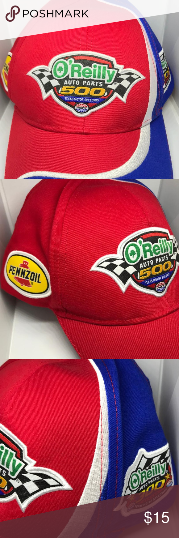 O'Reilly Auto Parts Men's Texas Motor Speedway Cap O