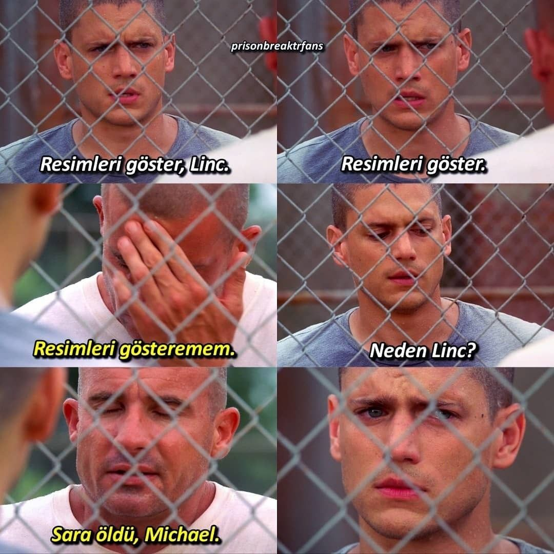 Wentworth Miller, Michael Scofield, Dominic Purcell