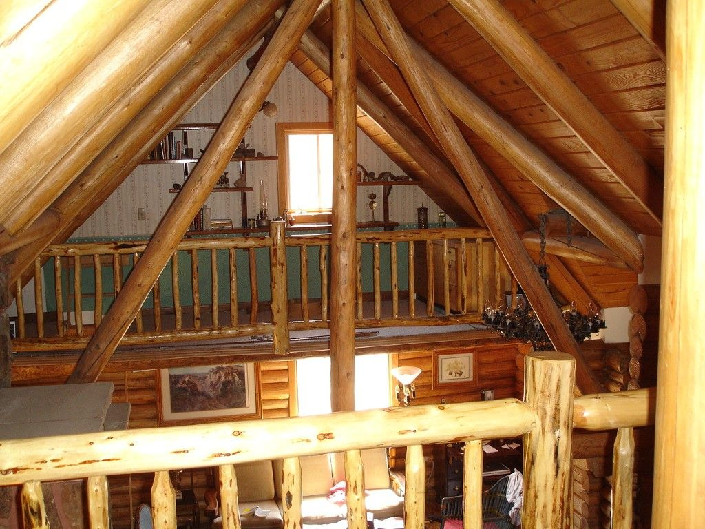 Hand Built Log Cabin in Ponderosa Forest Columbus Log