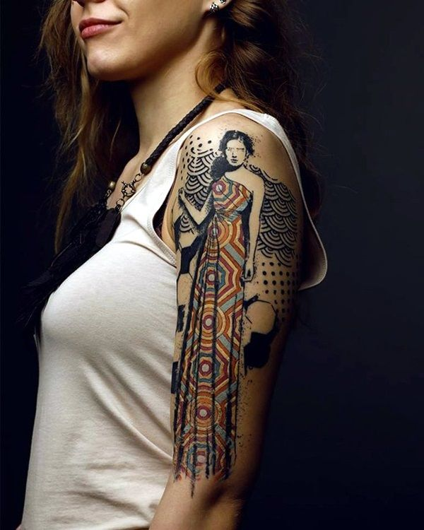 Pin By Christine Jarmer On Tats I Like: 101 Catchy Half Sleeve Tattoos For Girls And Boys