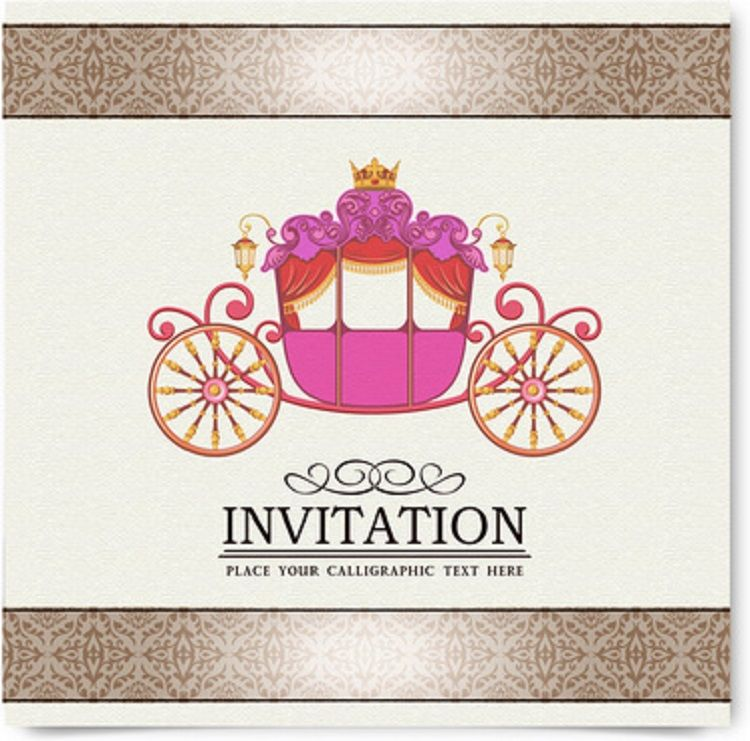Creative Birthday Invitation Card Cdr Vintage Invitations Christmas Party Template