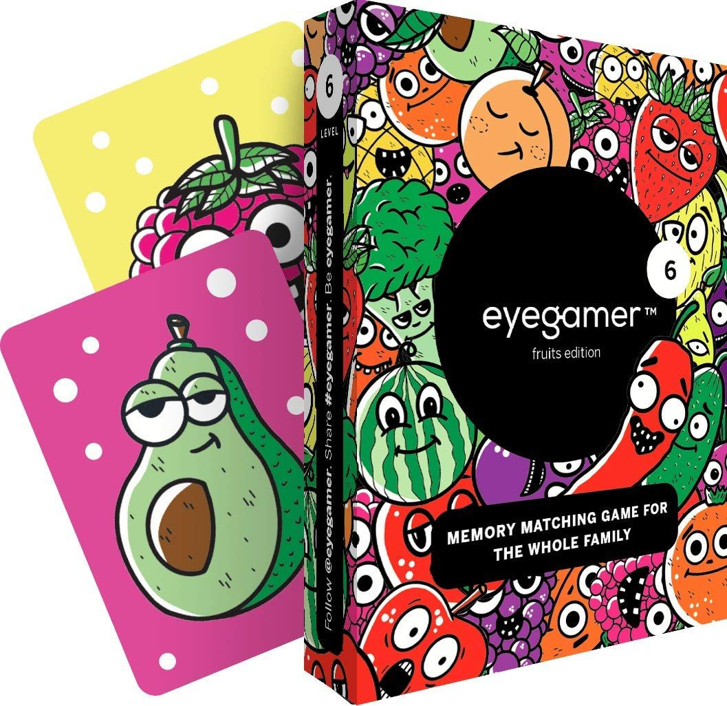 IMPROVES YOUR CHILD'S MEMORY AND CONCENTRATION Eyegamer