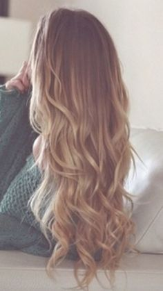 Grow Long Hair It Works Hsn Longer Stronger Beautiful Curly Brown Cute Wavy Tumblr