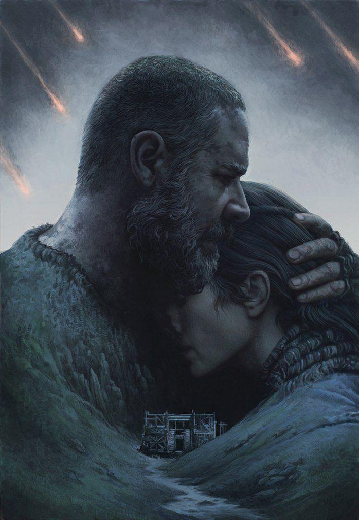 Noah movie poster, Yuri Shwedoff on ArtStation at http://www.artstation.com/artwork/noah-movie-poster