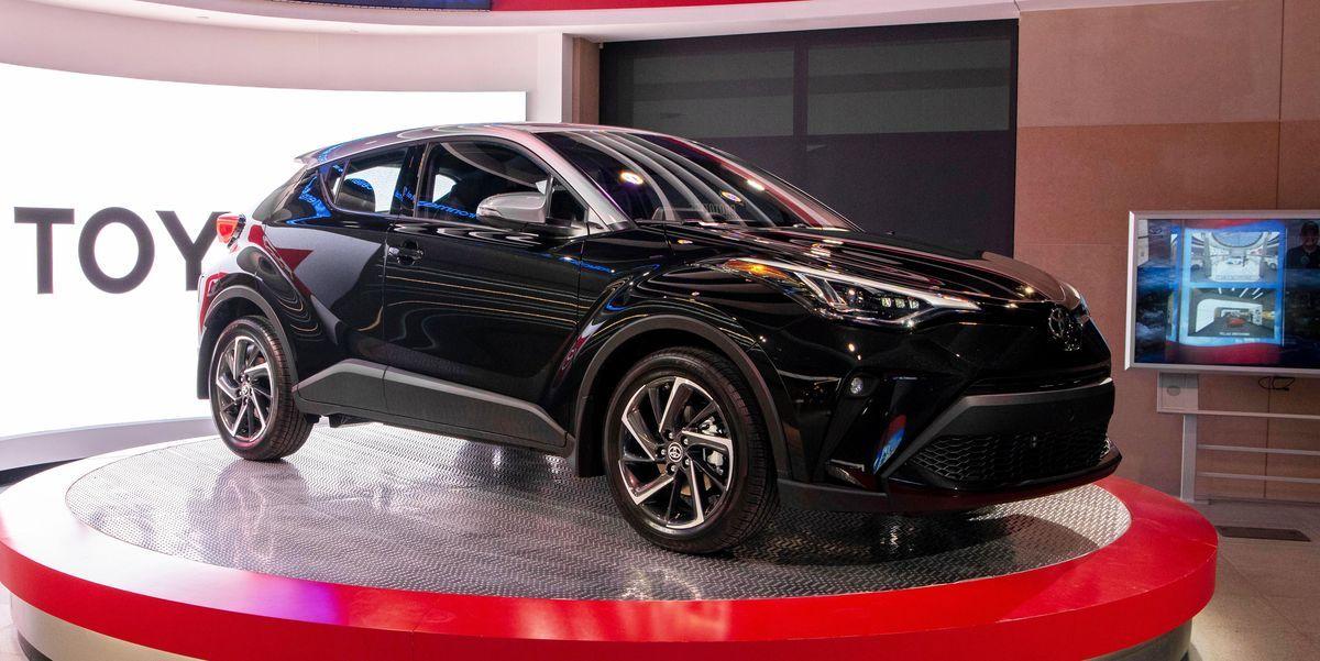 2020 Toyota C Hr Gets A Little Less Weird Looking Toyota C Hr Toyota Weird Look
