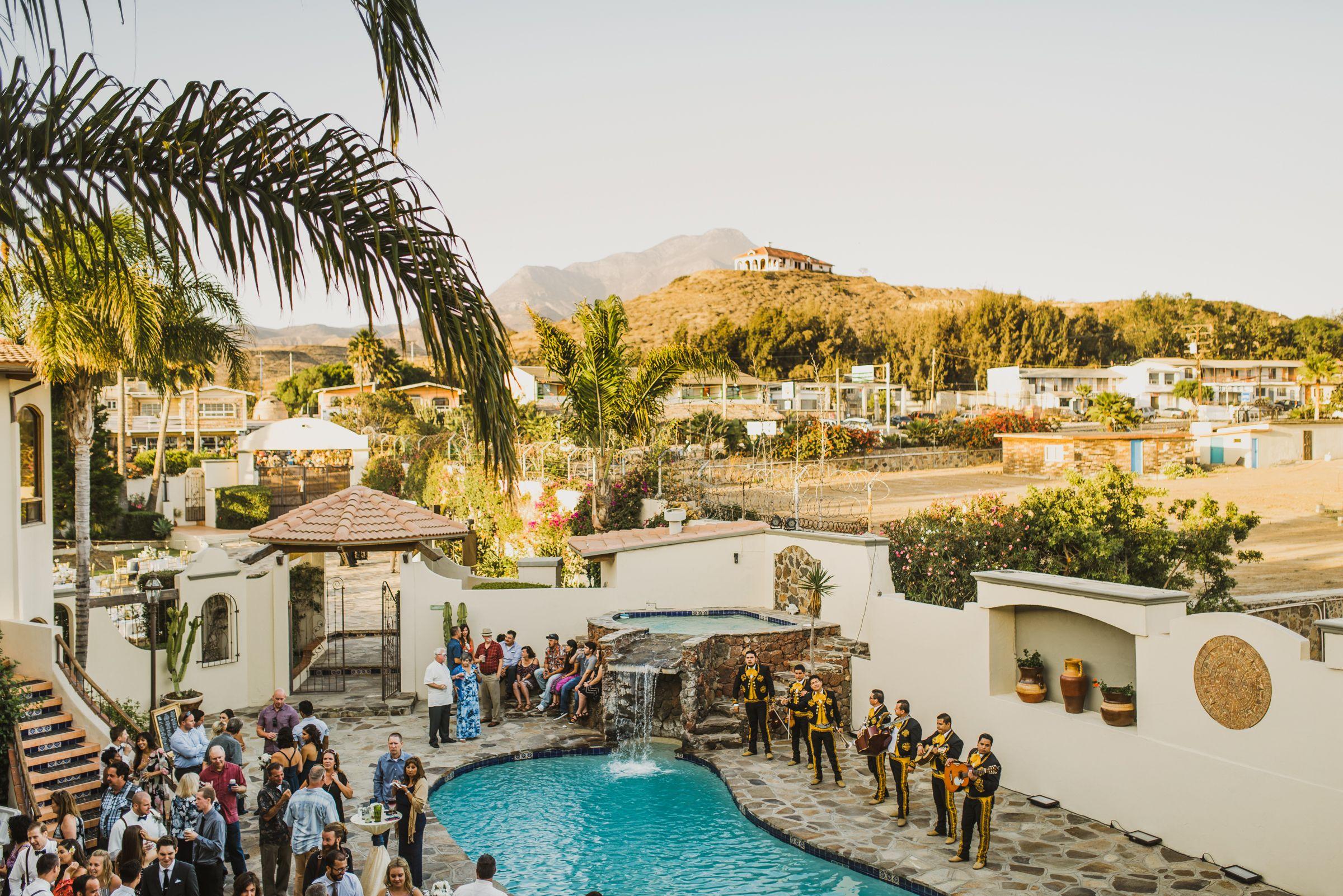 Playas De Rosarito Destination Wedding Mexico Pinterest