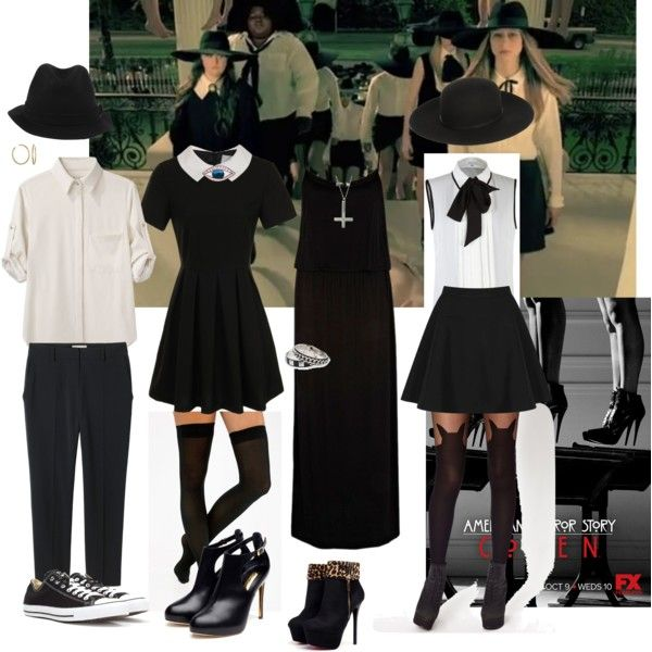 Fashion On American Horror Story Coven Fashion Look From October