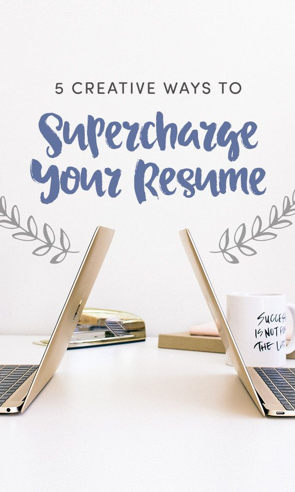 Not too long ago, people complained that a resume couldn't possibly contain even a third of what our full personalities hold. But today, things are a little different. We have more flexibility to show off our character with the fonts, designs, and dollops of creativity we choose to include.