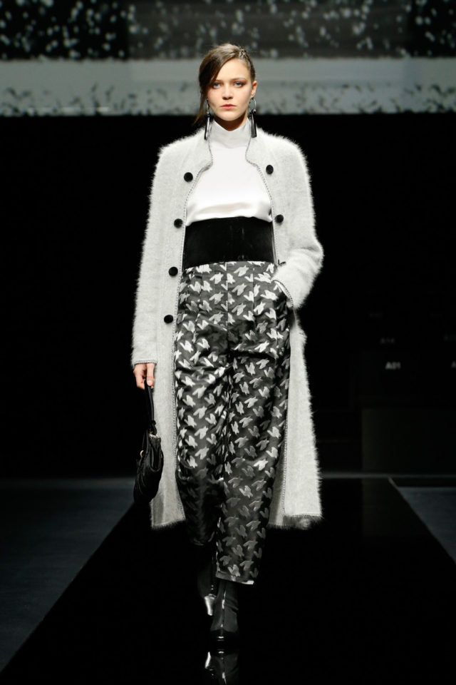 Giorgio Armani  #VogueRussia #readytowear #rtw #fallwinter2020 #GiorgioArmani #VogueCollections