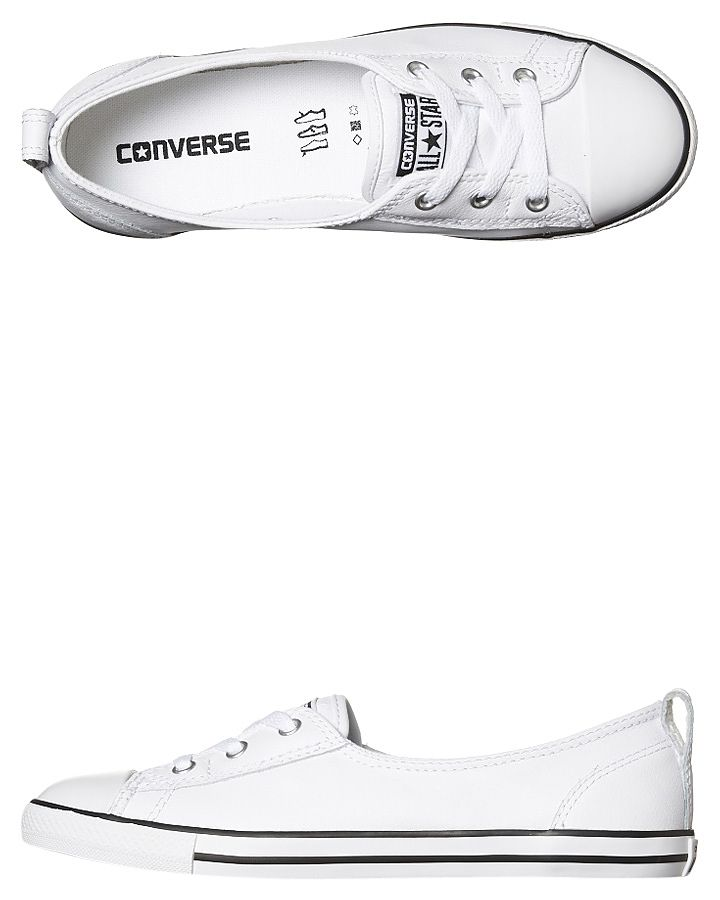 211b427737 Chuck Taylor All Star Ballet Lace Leather Shoe | Fashion | Shoes ...