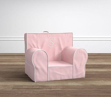 Pink Twill Harper My First Toddler Anywhere Chair